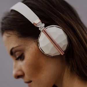 Caeden Rose gold Headphones